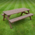 Oakham picnic bench - 6ft