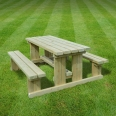 Tinwell junior picnic bench - 5ft
