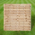Continental fence panel - 6ft