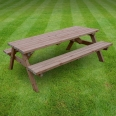 Oakham picnic bench - 8ft