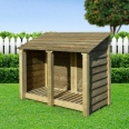 Cottesmore log store - 4ft - Clearance