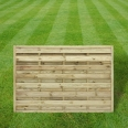 Continental fence panel - 4ft