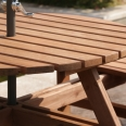 Ashwell Picnic Table - 8 Seater