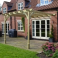 Premium Lean to Pergola - 2 Post