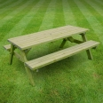 Oakham picnic bench - 7ft