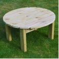 Barrowden Coffee Table - Circular
