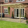 Clearance Lean To Box Pergola
