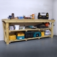 Wooden Work Bench - Pressure Treated