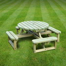 Whitwell junior circular bench