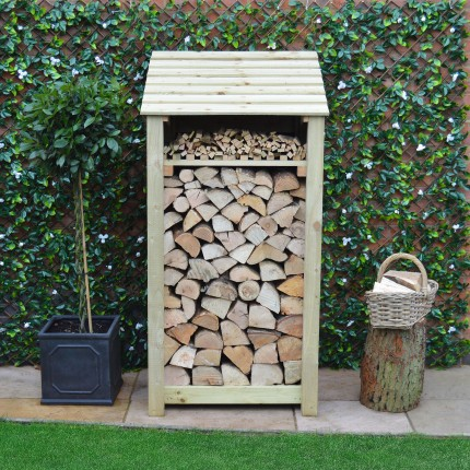 Burley log store - 6ft