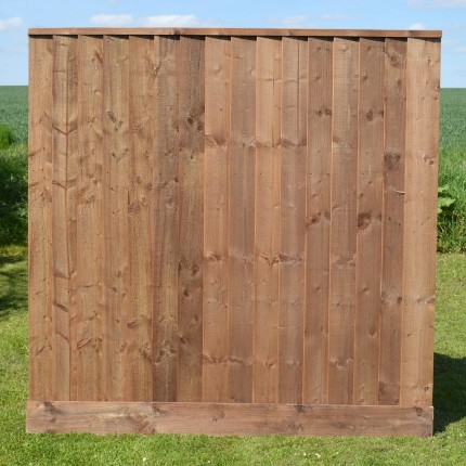 fence 6ft. Featherboard Panel With Gravel Board 6ft Fence C