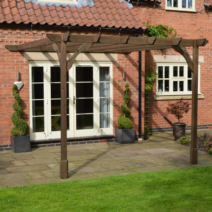 Clearance Premium Lean to Pergola - 2 Post
