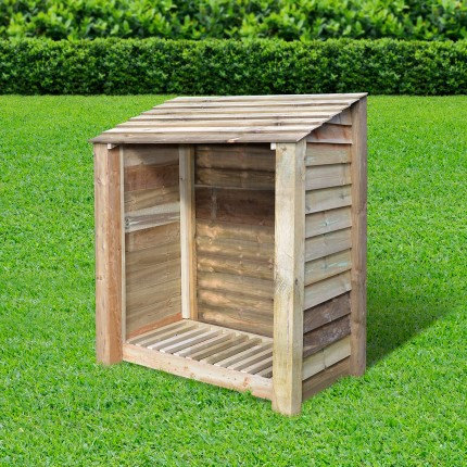 Greetham log store - 4ft - Clearance