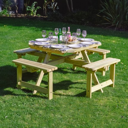 Whitwell Table - With 2 Table Top Options
