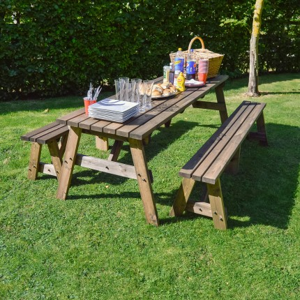 Oakham Picnic Table And Bench Set