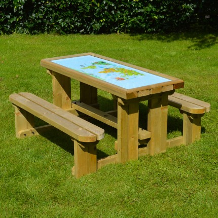 Tinwell Game Top Picnic Table 3ft