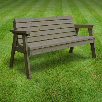 Thistleton garden seat Rutland County Garden Furniture