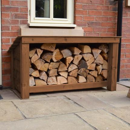 Langham Major Log Store Rutland County Garden Furniture