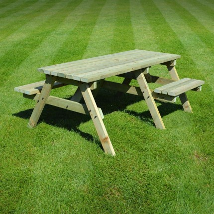 Bisbrooke disabled access picnic bench - 6ft