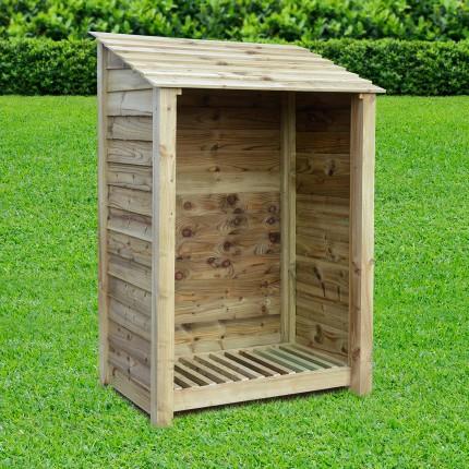 Greetham Log Store 6ft Rutland County Garden Furniture