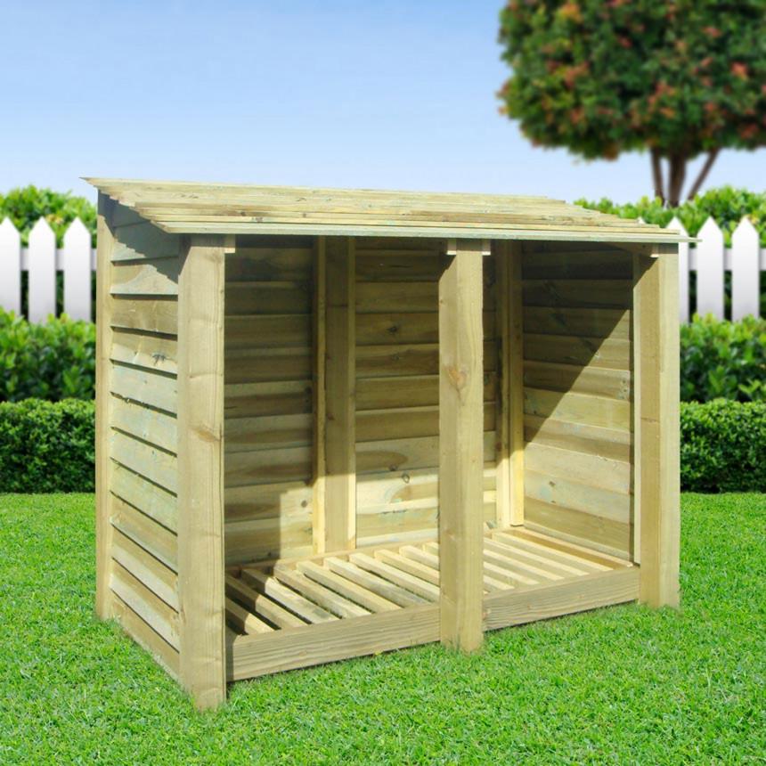 Pressure Treated Timber Log Store